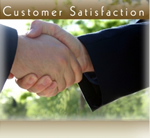 Customer Satisfaction Guarantee!